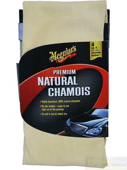 Meguiar's Premium Natural Chamois Naturleder,