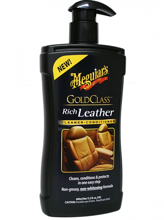 Meguiar`s  Gold Class Rich Leather Cleaner & Conditioner 400ml,