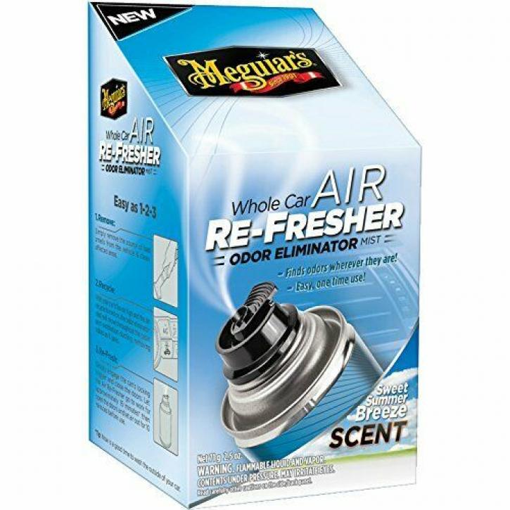 Meguiar`s Air Refresher Lufterfrischer Summer-Breeze Scent 59 ml