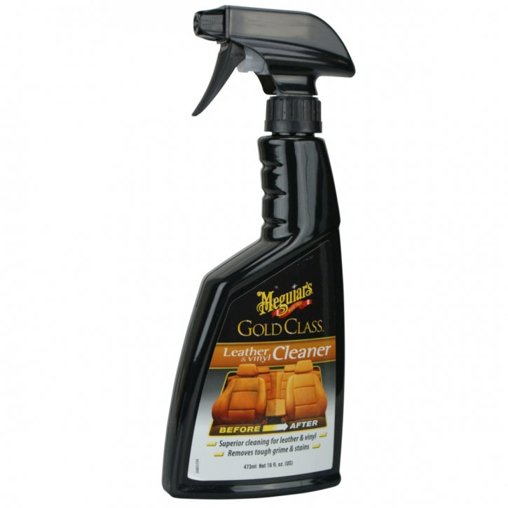 Meguiar`s Gold Class Leather Vinyl Cleaner Lederreiniger 473 ml,