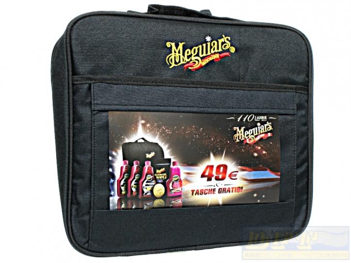 Meguiar`s  Set 7-tlg. inkl Kit Bag und 2 zusätzlichen Pads