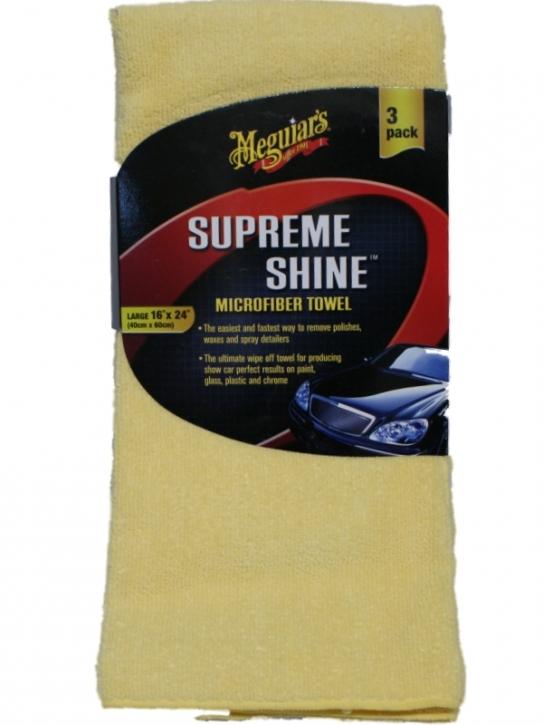 Meguiar`s Supreme Shine Microfiber 3er pack,