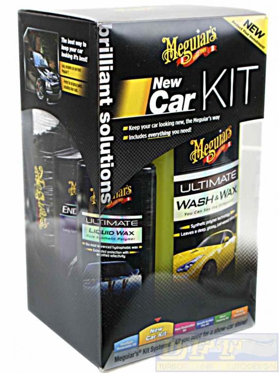 Meguiar´s New Car Kit ideales Geschenk alles drin was man braucht,