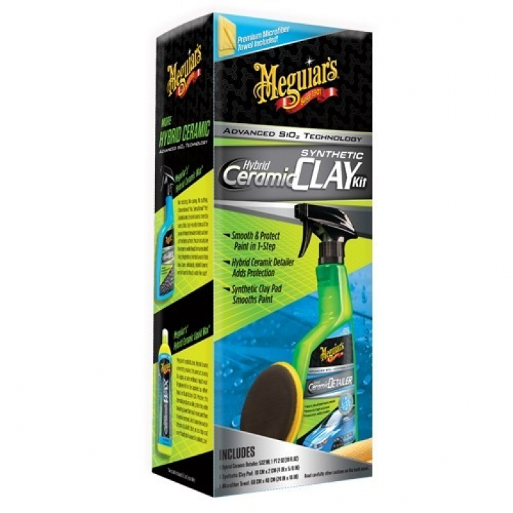 Meguiar`s Hybrid Ceramic Quik Clay Kit Detailing Set