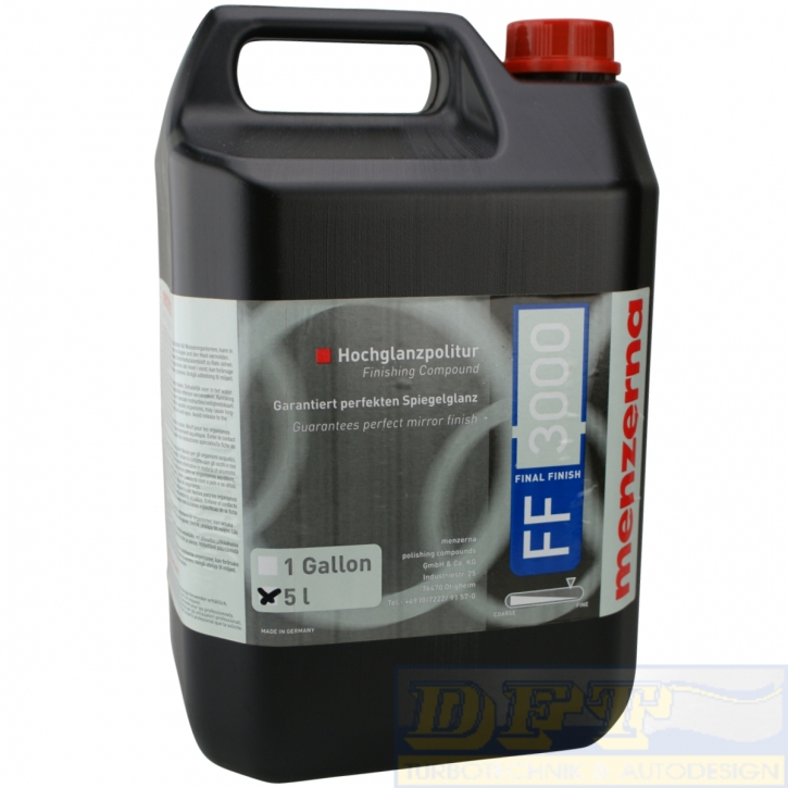 Menzerna FF 3000 Final Finish 5 Liter,