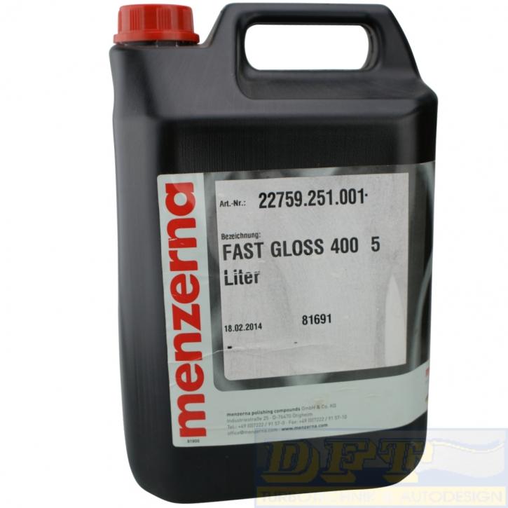Menzerna FG 400 Fast Gloss Schleifpolitur 5 Liter,