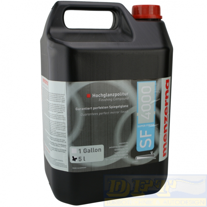 Menzerna SF 4000 Super Finish Politur 5 Liter,