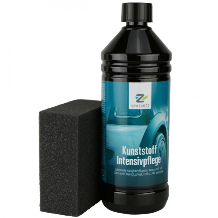 Nextzett Kunstoff Intensivpflege 1000 ml inkl Auftragsschwamm