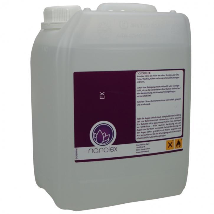 Nanolex EX Lackreiniger, Fett -und Ölentferner 5 Liter,
