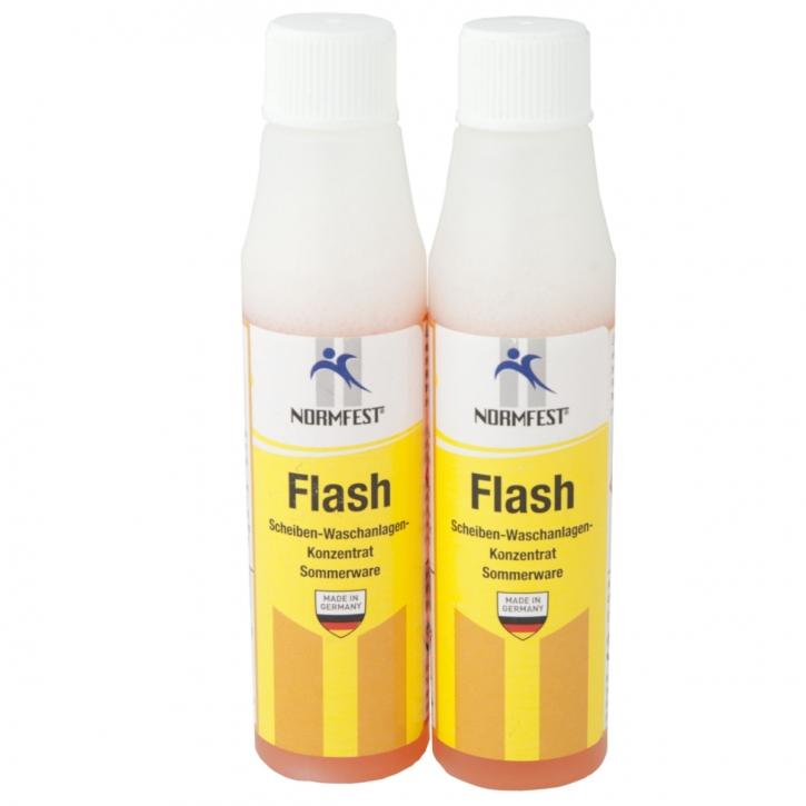 Normfest Scheiben-Waschanlagen Konzentrat Flash 2 x 30ml