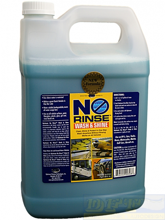 Optimum No Rinse Wash & Shine 3,785 L