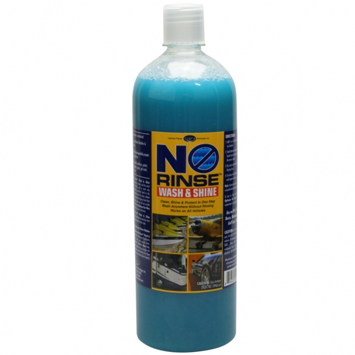 Optimum No Rinse Wash & Shine 946 ml,