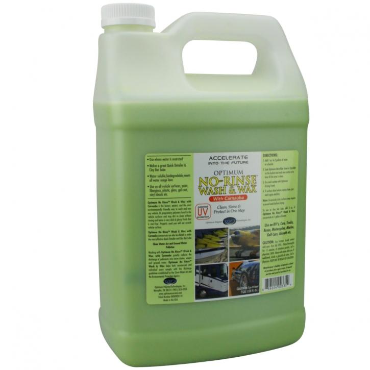 Optimum No Rinse Wash Wax with Carnauba 3,785L