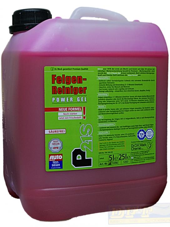 p21s felgenreiniger power gel 5 liter kanister 790805. Black Bedroom Furniture Sets. Home Design Ideas