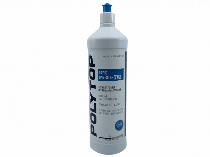 POLYTOP Rapid One PLUS Ein-Schritt-Politur One-Step Polish 1 Liter