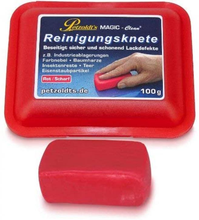 Magic Clean Reinigungsknete rot scharf 100 g