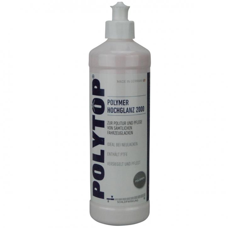 POLYTOP Polymer-Hochglanz 2000 Versiegelung mit PTFE 500 ml
