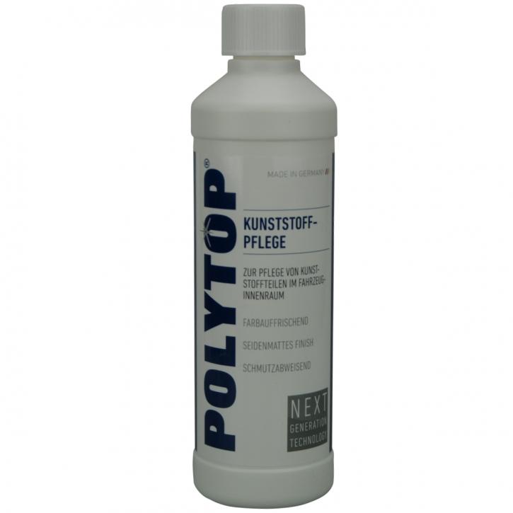 POLYTOP Kunststoffpflege für den Innenbereich Seidenmatter Glanz 500ml,