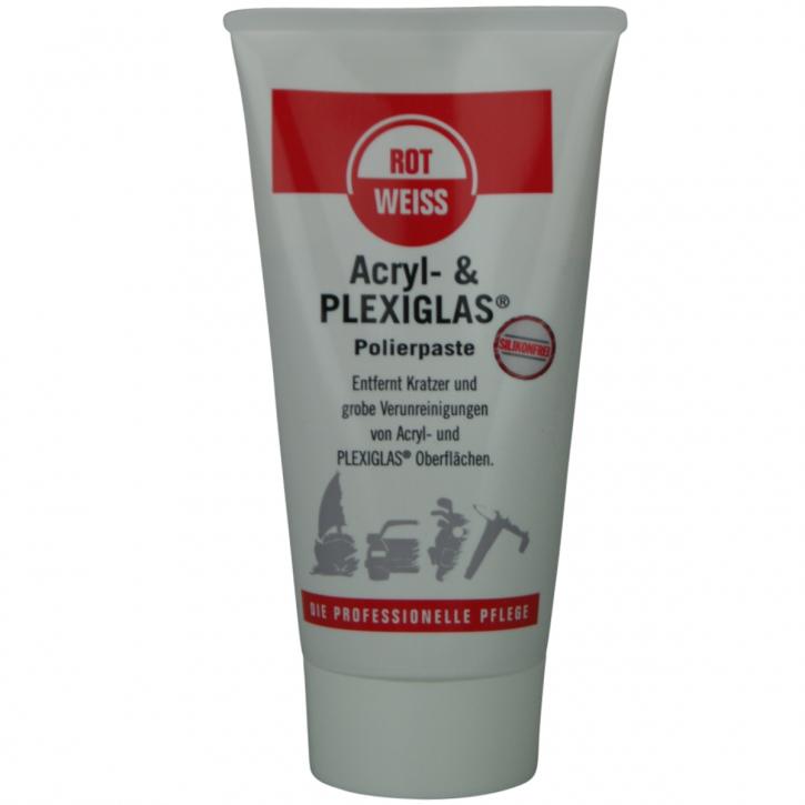 ROTWEISS Acryl-& Plexiglas Polierpaste 150 ml Tube,