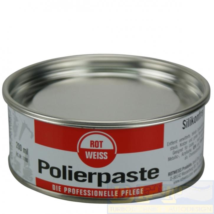 ROTWEISS Polierpaste 200ml Dose,