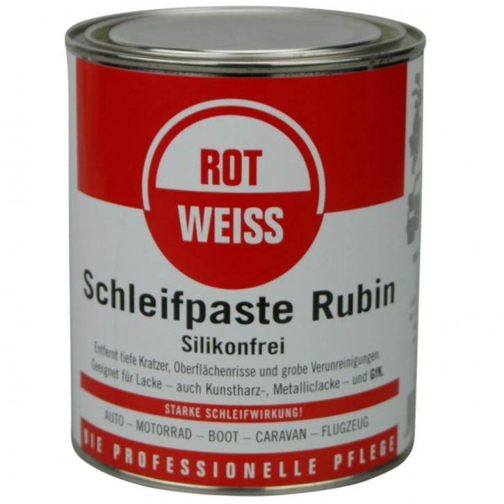 ROTWEISS Schleifpaste Rubin 750 ml,