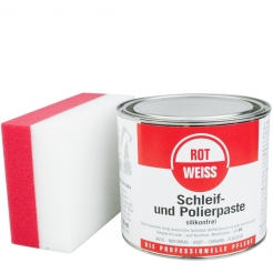 ROTWEISS Schleif und Polierpaste 750 ml inkl DFT Schleif & Polierschwamm