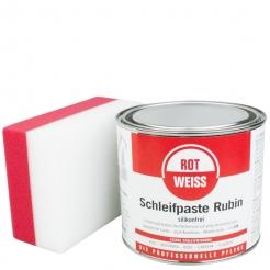 Rotweiss Schleifpaste Rubin inkl. DFT Schleif & Polierschwamm
