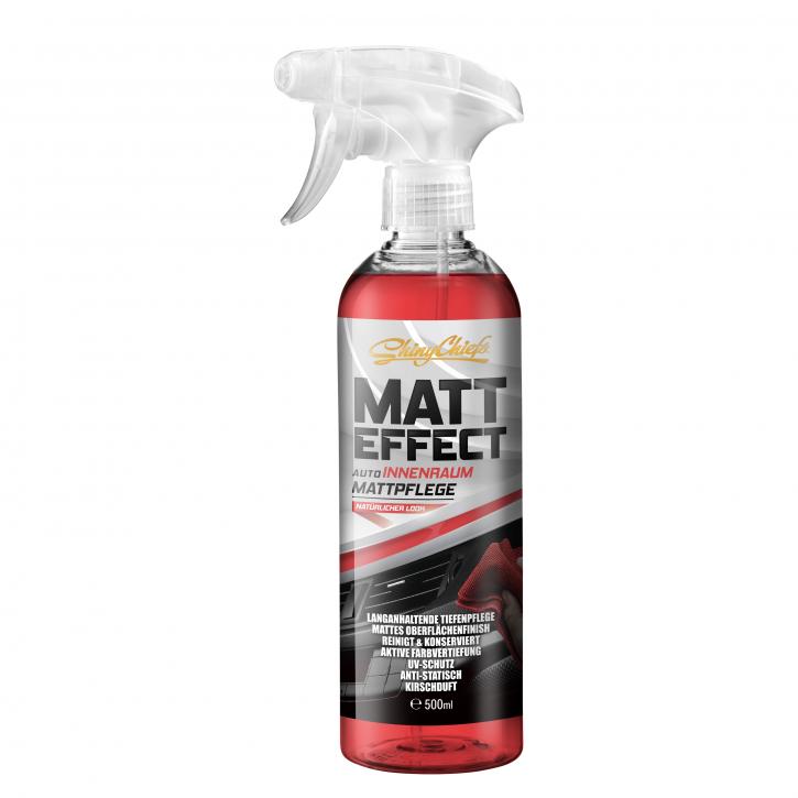 Shiny Chiefs Matt Effect - Mattpflege für KFZ-Innenraum 500ml