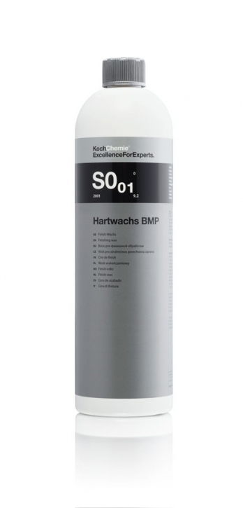Koch Chemie SO/01 Hartwachs BMP  Finish Wax 1 Liter,