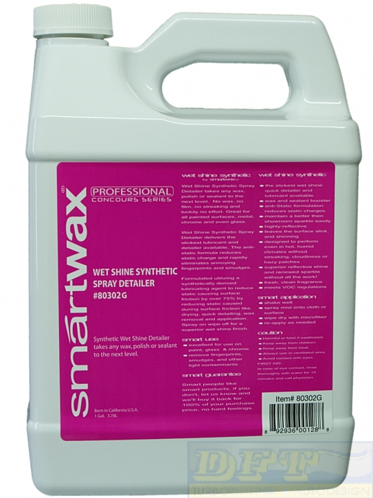 Smartwax Wet Shine Synthetic Spray Detailer 3,785l,Smartwax Wet Shine Synthetic Spray Detailer 3,785l,