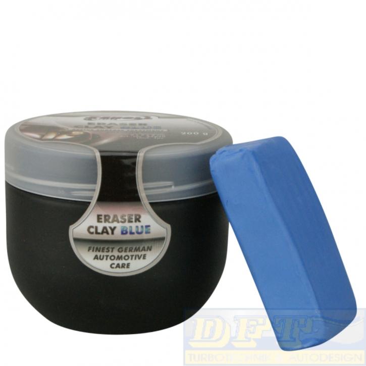 Scholl Concepts Eraser Clay Blue Reinigungsknete 200g in Box,