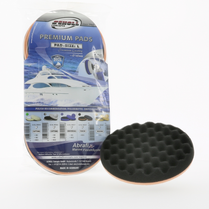 Scholl Concepts Marine SOFTouch Waffle Pad L 165 mm 2er pack