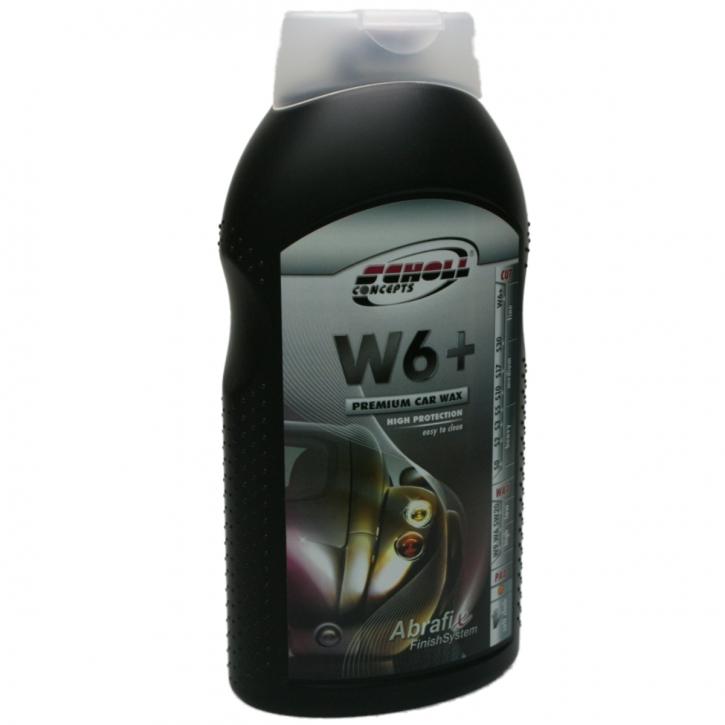 Scholl Concepts W6+ Premium Car Wax 1 Liter,