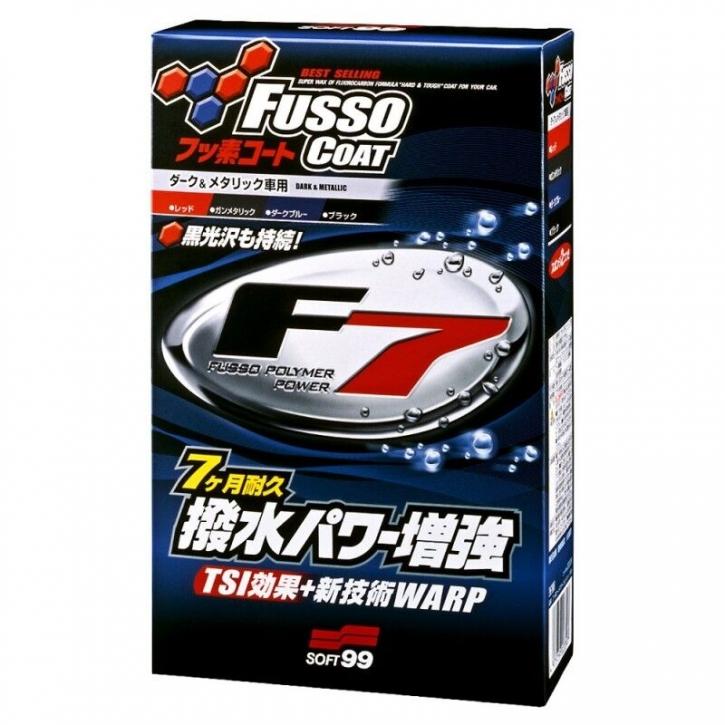Soft99 Fusso Coat F7 Versiegelung für schwarze und dunkle Lacke 300 ml