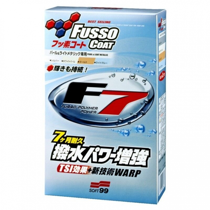 Soft99 Fusso Coat F7 Versiegelung für weiße und helle Lacke 300 ml