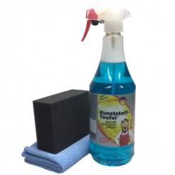 Tuga Chemie Kunststoff Teufel 1000 im Set mit Applicator & Microfasertuch