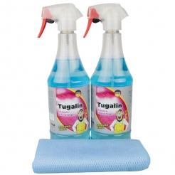 2x Tuga Chemie Tuaglin Glasreiniger 1000 ml inkl. DFT Glastuch