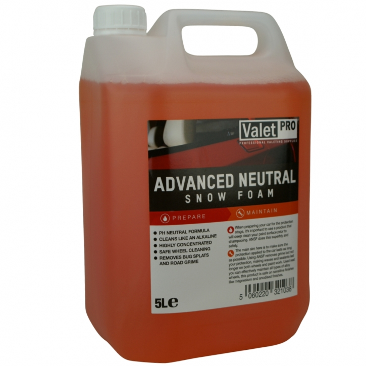 ValetPRO Advanced Snow Foam Shampoo 5 Liter,