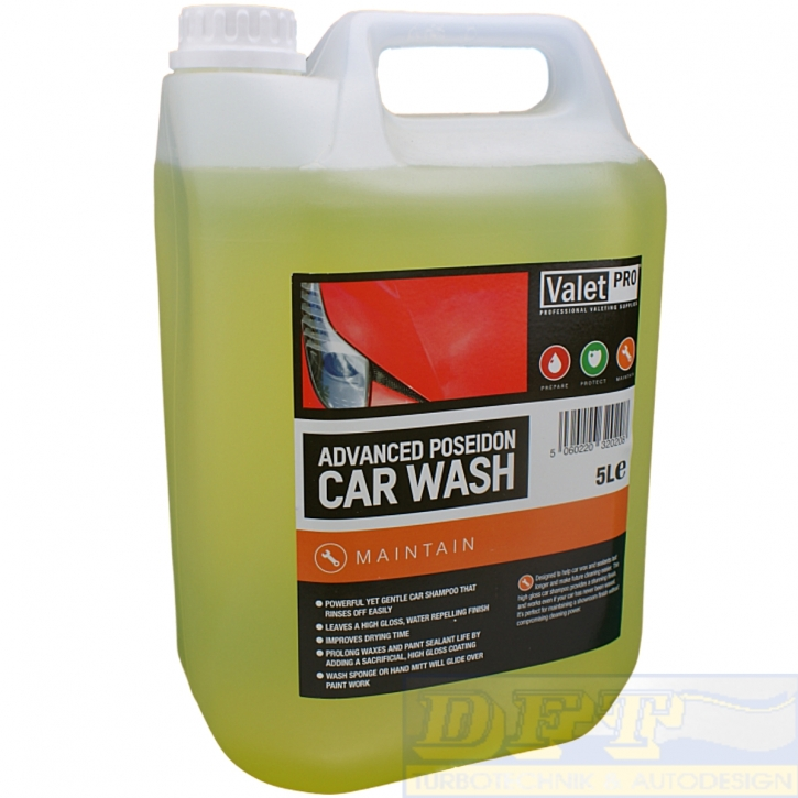 ValetPRO Advanced Poseidon Carnauba Wash 5 Liter,
