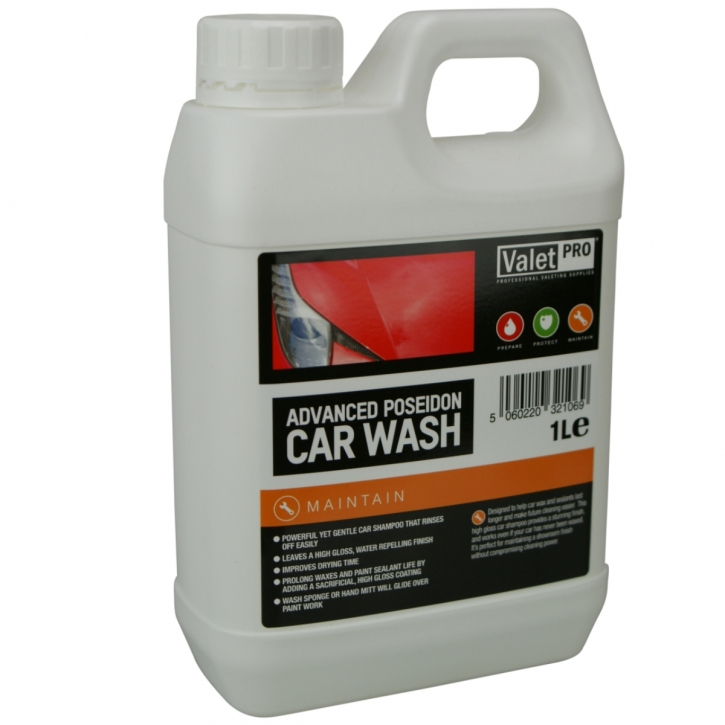 ValetPRO Advanced Poseidon Carnauba Wash 1 Liter,