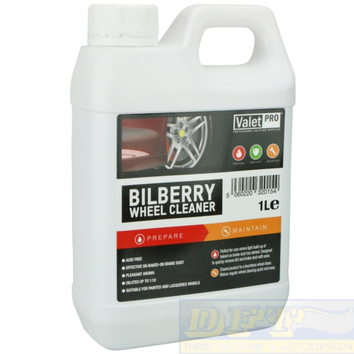 ValetPro Bilberry Wheel Cleaner Felgenreiniger 1 Liter,