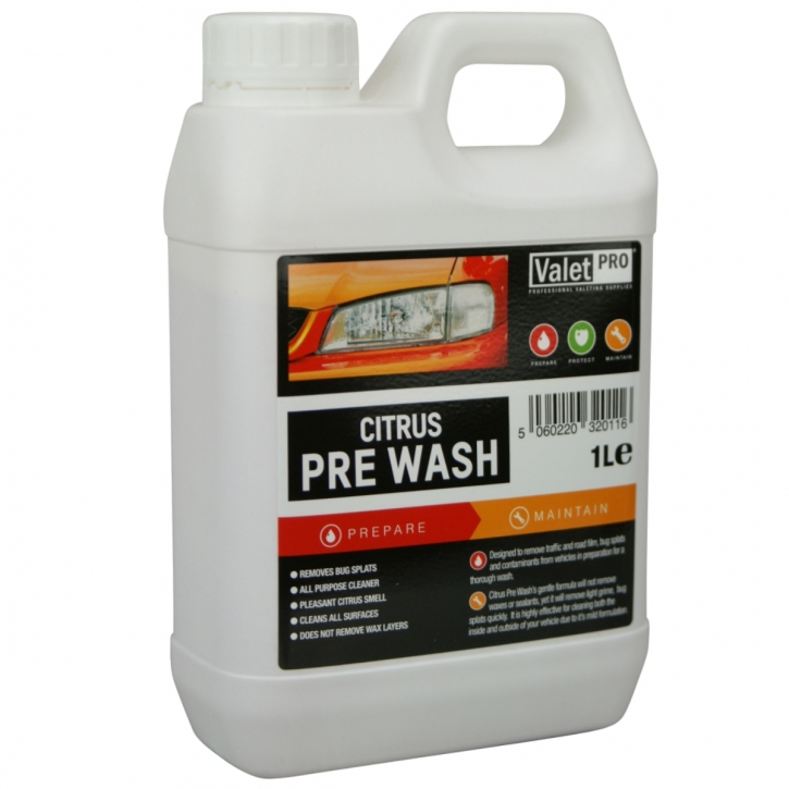 ValetPRO Citrus PRE Wash 1 Liter,