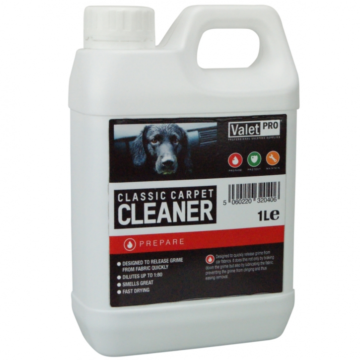ValetPRO Classic Carpet Cleaner 1 Liter
