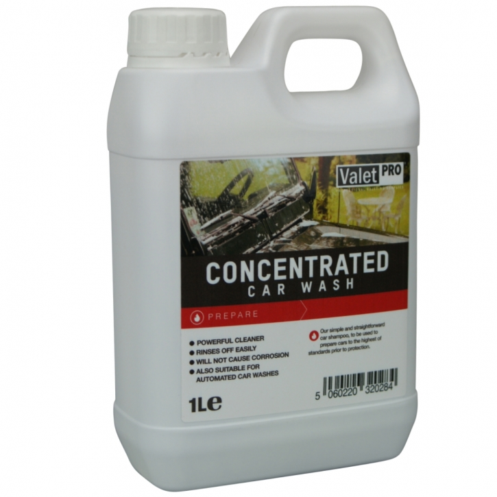 ValetPro Concentrated Car Shampoo 1 Liter,