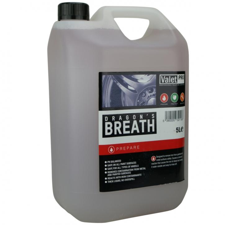 ValetPRO Dragon`s Breath Flugrostentferner,Felgenreiniger 5 Liter,