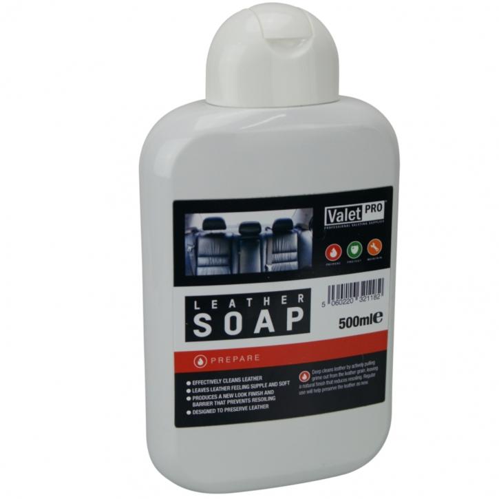 ValetPro Leather Soap, Lederseife 500 ml