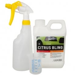 ValetPro Citrus Bling 1 Liter im Set mit Sprühflasche & Messbecher