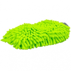 Chemical Guys Chenille Wash Mitt grün