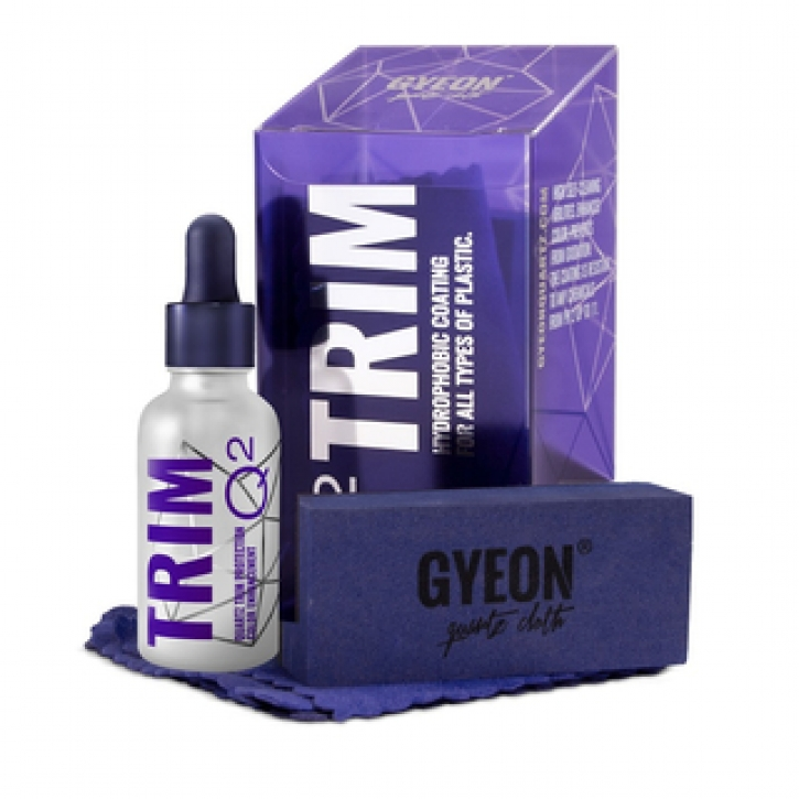 Gyeon Q2m Trim Kunststoffversiegelungs Set 30 ml