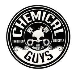 Chemical Guys Logo Sticker Aufkleber 203 mm